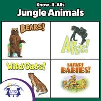 Know-It-Alls! Jungle Animals - Christopher Nicholas, Carol Harrison, Diane Muldrow, Lisa McClatchy