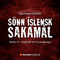Sönn íslensk sakamál: S2E4 – Vopnað rán á Laugavegi - Sigursteinn Másson
