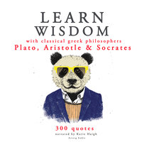 Learn wisdom with Classical Greek philosophers: Plato, Socrates, Aristotle - Aristotle, Plato, Socrates