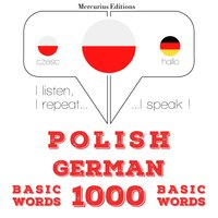Polish – German : 1000 basic words - JM Gardner