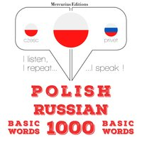 Polish – Russian : 1000 basic words - JM Gardner