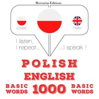 Polish – English : 1000 basic words - JM Gardner