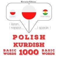 Polish – Kurdish : 1000 basic words - JM Gardner
