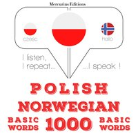 Polish – Norwegian : 1000 basic words - JM Gardner
