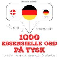 1000 essentielle ord på tysk - JM Gardner