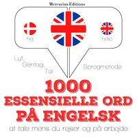 1000 essentielle ord på engelsk - JM Gardner