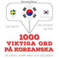 1000 viktiga ord på koreanska - JM Gardner