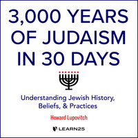 3,000 Years of Judaism in 30 Days: Understanding Jewish History, Beliefs, and Practices - Howard Lupovitch
