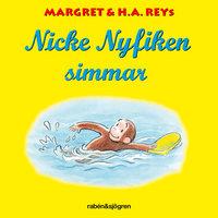 Nicke Nyfiken simmar - H.A. Rey, Margret Rey