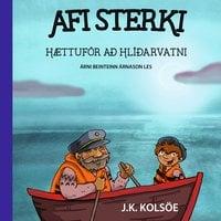 Afi sterki: Hættuför að Hlíðarvatni