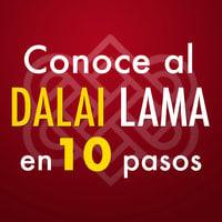 Conoce al Dalai Lama en 10 pasos - Editorial Ink