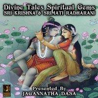 Divine Tales Spiritual Gems: Sri Krishna & Srimati Radharani - Unknown