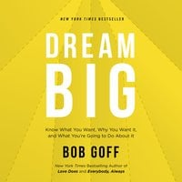 Dream Big: Know What You Want, Why You Want It, and What You're Going to Do About It - Bob Goff