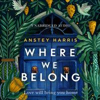 Where We Belong - Anstey Harris