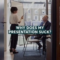 Why Does My Presentation Suck? - Sarah Burnett