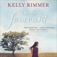 Da du forsvant - Kelly Rimmer
