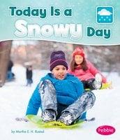 Today is a Snowy Day - Martha Rustad