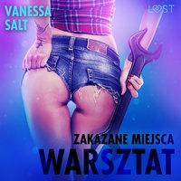 Zakazane miejsca: Warsztat - opowiadanie erotyczne - Vanessa Salt
