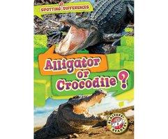Alligator or Crocodile? - Christina Leaf