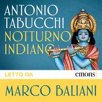 Notturno indiano GOLD - Antonio Tabucchi