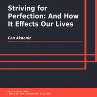 Striving for Perfection: And How It Effects Our Lives - Can Akdeniz