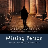 Missing Person - Patrick Modiano