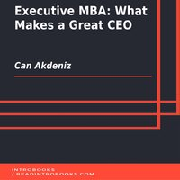 Executive MBA: What Makes a Great CEO - Can Akdeniz