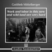 Work and Labor in This New and Wild Land Are Very Hard - Gottlieb Mittelberger