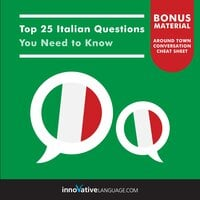 Top 25 Italian Questions You Need to Know - Innovative Language Learning