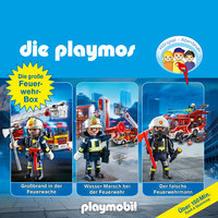 Die Playmos - Die große Feuerwehr-Box: Folgen 42, 57, 62 - Simon X. Rost, Florian Fickel, David Bredel