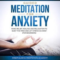 Guided Meditation for Anxiety, Panic Relief, Healing and Relaxation to Quiet the Mind and let Stress go Away - Mindfulness Meditation Academy