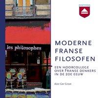 Moderne Franse filosofen - Ger Groot