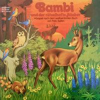 Bambi - Folge 3: Bambi und der rätselhafte Räuber - Felix Salten, Peter Lach