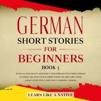 German Short Stories for Beginners Book 3 - Learn Like A Native