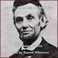 Letter To James C. Conkling - Abraham Lincoln