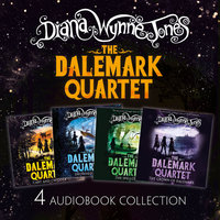 The Dalemark Quartet Audio Collection: Cart and Cwidder, Drowned Ammet, The Spellcoats, The Crown of Dalemark - Diana Wynne Jones