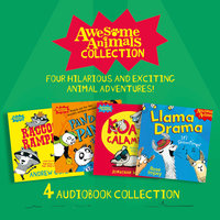 Awesome Animals Collection: Racoon Rampage, Panda Panic, Koala Calamity, Llama Drama - Jamie Rix, Jonathan Meres, Rose Impey, Andrew Cope