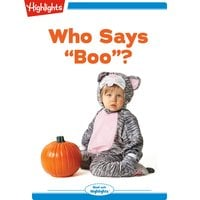 "Who Says ""Boo""? - Eileen Spinelli"