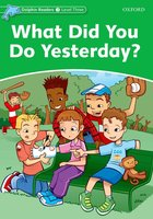 What Did You Do Yesterday? - Jacqueline Martin