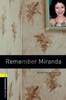 Remember Miranda - Rowena Akinyemi