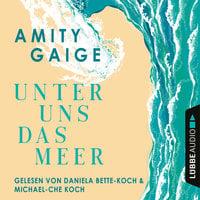 Unter uns das Meer - Amity Gaige