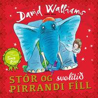 Stór og svolítið pirrandi fíll - David Walliams