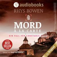 Mord à la Carte - Ein Fall für Constable Evans-Reihe, Band 4 - Rhys Bowen