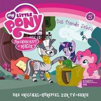 Folge 5: Das fremde Zebra / Fürchterlich niedliche Tierchen (Das Original-Hörspiel zur TV-Serie) - Thomas Karallus