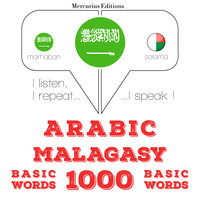Arabic – Malagasy : 1000 basic words - JM Gardner