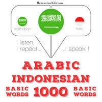 Arabic – Indonesian : 1000 basic words - JM Gardner