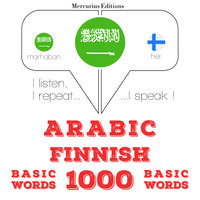 Arabic – Finnish : 1000 basic words - JM Gardner
