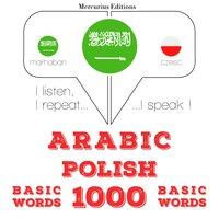 Arabic – Polish : 1000 basic words - JM Gardner