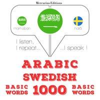 Arabic – Swedish : 1000 basic words - JM Gardner