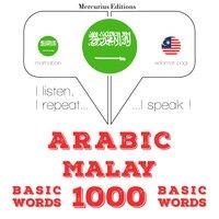 Arabic – Malay : 1000 basic words - JM Gardner
